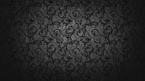 black dark floral wallpaper for desktop background and walls hd
