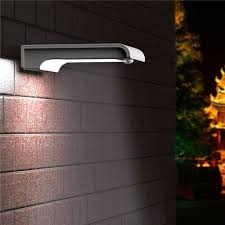 Motion Activated Outdoor Light All Pro Outdoor Security 2500lumen Dusktodawn Led Area And Wall