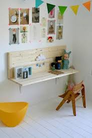 Diy Wall Desk Wall Mounted Desks For The Ones K I D S D E S K S