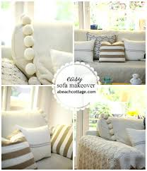 Sure Fit Sectional Slipcover Individual 3 Piece T Cushion Sofa Slipcover Set Ebay Sectional
