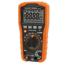 klein tools true rms auto ranging digital multimeter mm700 the