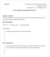 Pictures Of Sample Resumes by Cv Templates U2013 61 Free Samples Examples Format Download Free