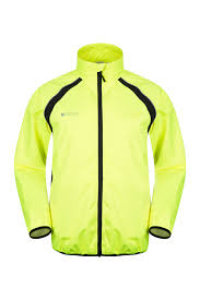 mens hi vis waterproof cycling jacket mens reflective jackets mountain warehouse us