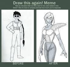 Draw This Again Meme Fail - tomboy s profile
