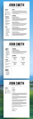 Resume Free Templates Microsoft Word Best 20 Resume Templates Ideas On No Signup Required