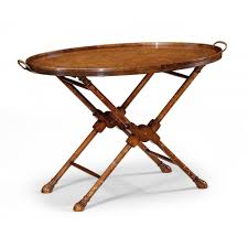 walnut tray table butler tray swanky interiors