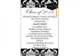 graduation announcements wording college graduation announcement wording with honors plus college