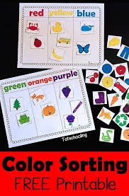 389 best color activities for images on preschool