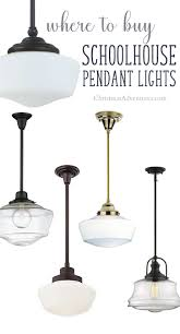 Best Place To Buy Ceiling Lights Where To Buy Schoolhouse Pendant Lights Christinas Adventures