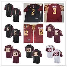 Custom Flag Football Jerseys Wholesale Florida State Football Jersey Buy Cheap Florida State