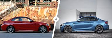 bmw m2 release date bmw m235i vs bmw m2 performance coupe clash carwow