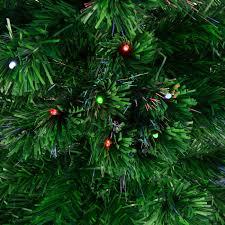 pre lit fiber optic tree image ideas trees