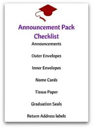 graduation name cards correct graduation announcement etiquette with ease