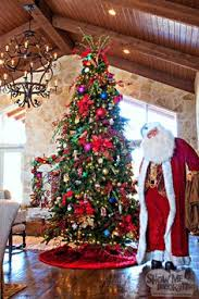 decorating familyroom in multi colors tree and