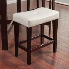 Bar Stool For Kitchen Furniture Awesome White Saddle Seat Bar Stools For Modern