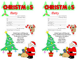 Sample Invitation Card For Christmas Party Excellent Christmas Party Invitations Free Templates Word Features