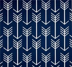 Indoor Outdoor Fabric For Upholstery Navy Blue Arrow Indoor Outdoor Fabric By The Yard Southwest