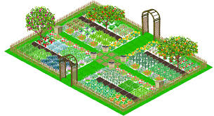 Permaculture Vegetable Garden Layout by Plan Vegetable Garden In 3d Planning New Garden Pinterest