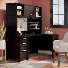 Corner Computer Table Cherry Desks You U0027ll Love Wayfair