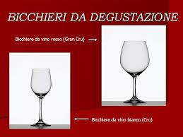 bicchieri degustazione olio la degustazione vino ppt scaricare