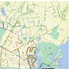 Mta Queens Bus Map Bronx Bus Map Route 40 Bx21 Bus Map Mta Rail Map New York