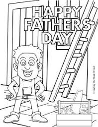 fathers day coloring page crafting the word of god