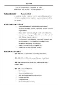 Accounts Payable And Receivable Resume Sample by 9 Inspiring Accounting Resume Templates Resume Accounting Student
