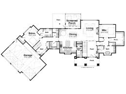 single level house plans aps098lvl1libllg gif alluring one level house plans home design ideas