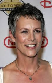 jamie lee curtis haircut back view jamie lee curtis short no fuss hairstyle for silver grey hair