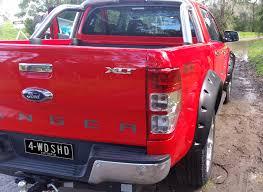 Ford Ranger Monster Truck Snake Monster Flare Kit Ford Ranger Px Mk Front Only