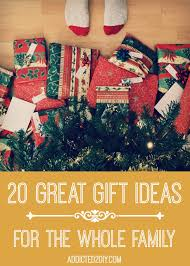 20 great gift ideas for the whole family addicted 2 diy