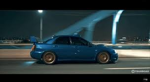 bronze subaru wrx car of the day