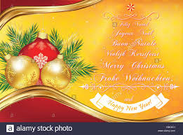 new year postcard greetings warm new year greeting card in many languages merry christmas in