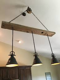 Lowes Porch Lights by Barn Wood Pulley Vaulted Ceiling Light Fixture Pendants Are From