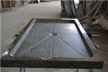 square black granite honed shower tray shower panel for