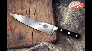 Best Budget Chef S Knife 4 Month Review Kuma 8in Chef Knife Youtube