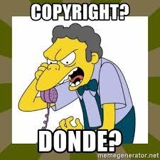 Meme Generator Copyright - copyright donde moe szyslak meme generator