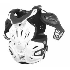 motocross safety gear leatt new mx 3 0 fusion vest dirt bike white motocross armour neck