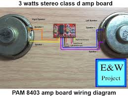 pam 8403 board amp wiring diagram easy and work project