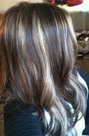 foil highlights for brown hair the 25 best partial blonde highlights ideas on pinterest