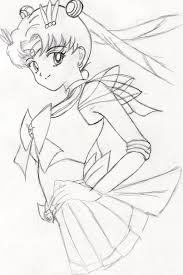 super sailor moon sketch by asukaevaunit02 on deviantart