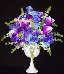 white and blue floral arrangements splendid purple floral arrangements 22 purple flower bouquet uk