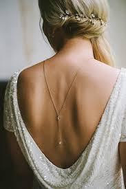 back necklace gold images Dia back necklace back chain y necklace bridal back drop jpg