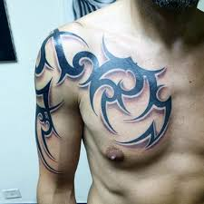 collection of 25 best tribal for on chest