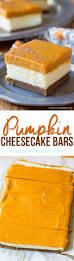 Gingersnap Pumpkin Cheesecake by Layered Pumpkin Cheesecake Bars A Spicy Perspective