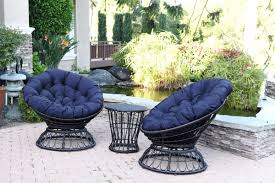 Boston Swivel Chair by Jeco Inc Papasan Espresso Wicker Swivel Chair And Table Set With