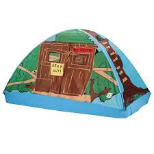 amazon com pacific play tents kids tree house bed tent playhouse