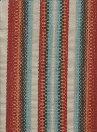 Maroon Upholstery Fabric Cottonwood Guava Maroon Blue Stripe Upholstery Fabric