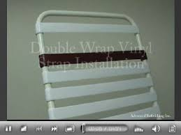 Vinyl Straps For Patio Chairs How To Repairs For Your Patio Chaise Or Patio Chair Click The