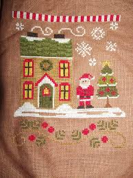 country cottage needleworks santa u0027s village les tribulations